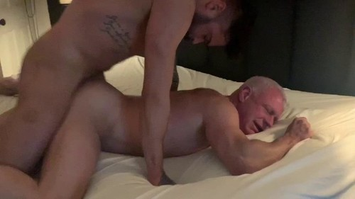 RawFuckClub - Fucking The Daddy!: Seth Knight, Cris Knight, Mark Bareback