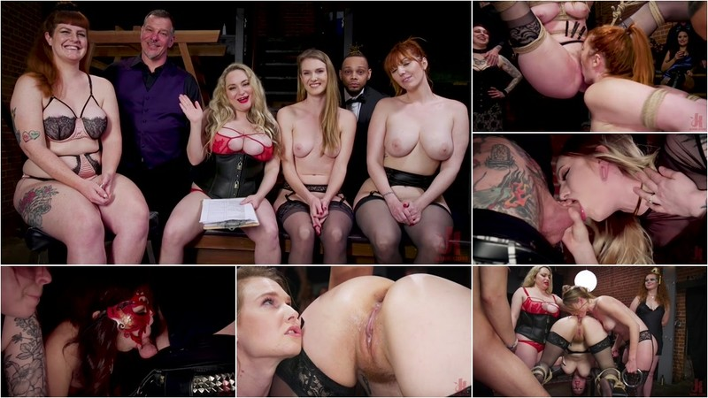 Aiden Starr Ashley Lane And Lauren Phillips - Babe BDSM Swinger Becomes Sexual Submissive For The House [HD 720P]