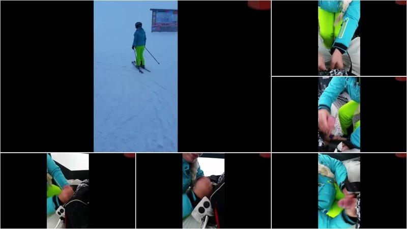 Fitness-Maus - Ski schü ler in der Gondel abg emol ken! [HD 76.0 MB]