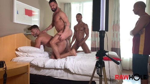 RawHole - Behind the Scenes with Lucas, Guto Bareback