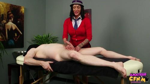 AmateurCFNM 20 03 17 Chantelle Fox College Massage XXX 1080p MP4-KTR