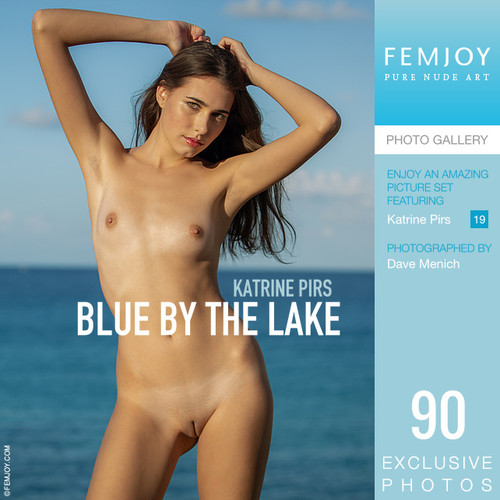 Katrine Pirs in Blue By The Lake (2020-03-19)