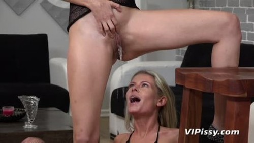 Tiny Tina - Ready For Action - Extreme Pissing Video