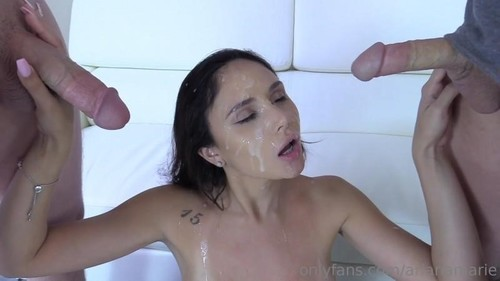Ariana Marie - Golden Shower And Double Facial Video