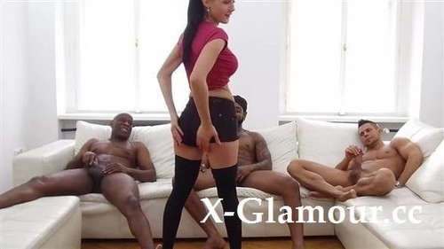 Nicole Love - Violent Interracial Gang-Bang [FullHD/1080p]