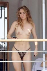 Suki Waterhouse Nude While Sunbathing at France 2