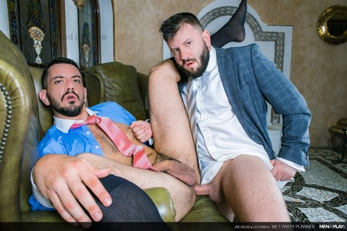 MenAtPlay - Wet Party Planner: Joe Gillis, Leo Grin Bareback (Aug 7)