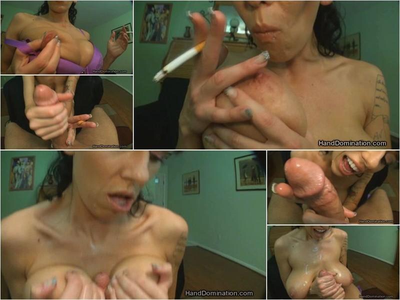 Alia Janine HandDomination.com Amazon girl uses her BIG boobs like hands [HD 720p]