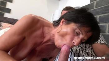 Classy Granny Loves Rough Sex GrandMams