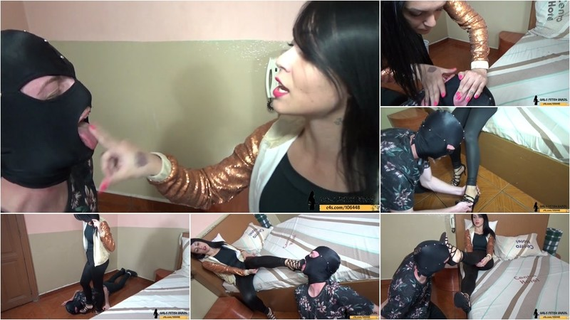 Foot And Shoe Humiliation Loser Slave Floor Licker [FullHD 1080P]
