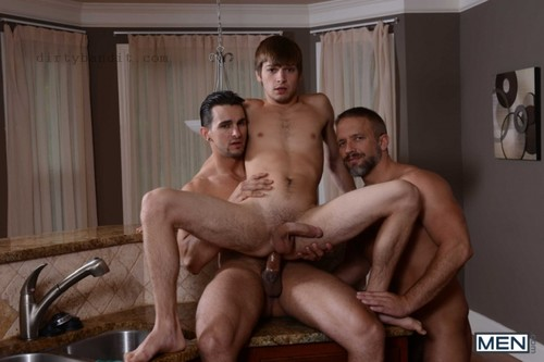 MEN - Stepfather's Secret Part 7: Dirk Caber, Johnny Rapid & Phenix Saint