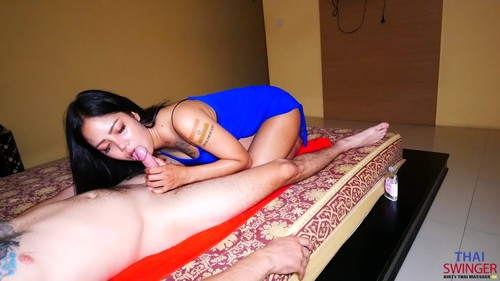 Thaiswinger.com - Tattooed Bargirl Massage Great BJ