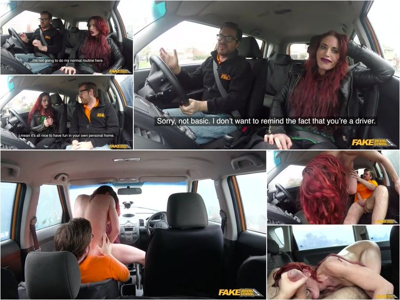 Diverse Stacey (Crazy Redhead Fucks Car Gearstick) [SD 480p]