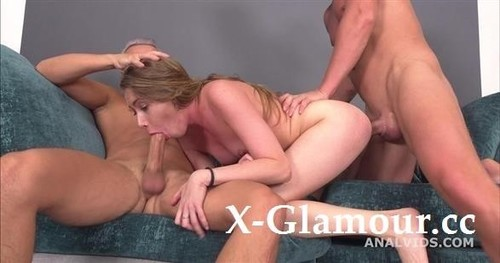 Russian Pee, Linda Sirens 3On1 Balls Deep Anal, Gapes, Pee, Cum In Mouth GIO - Legal Porno (SD)