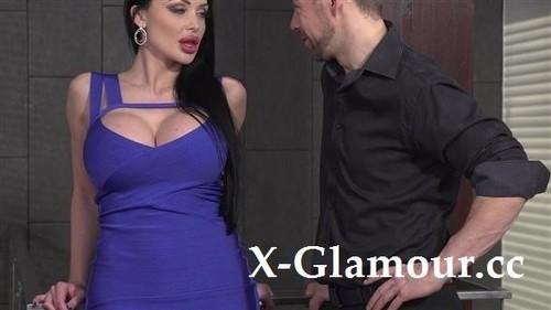 """Kayla Green, Aletta Ocean in """"Dress-Wearing Beauty Blows In Front Of Her Gf"""" [SD]"""