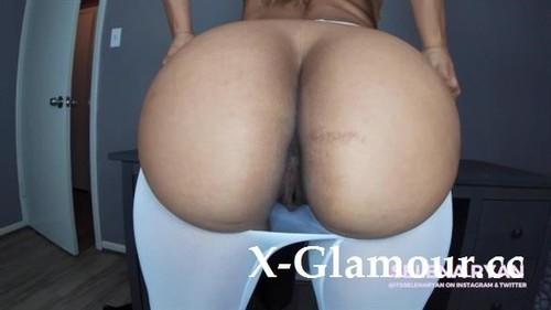 Seduced By Your Latina Secretary Ripped Pantyhouse Dildo Ride - Selenaryan [FullHD]