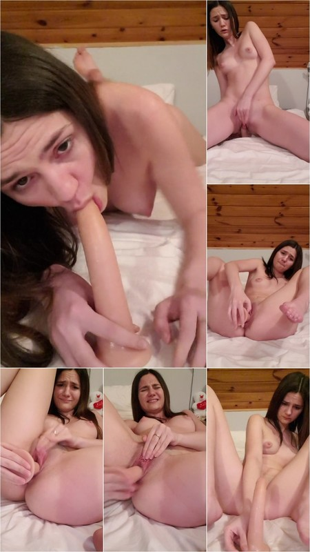Sweet Emi - prem Teen Girl Suck and Fuck with Dildo . Cowgirl. Foot Fetish [FullHD 1080P]