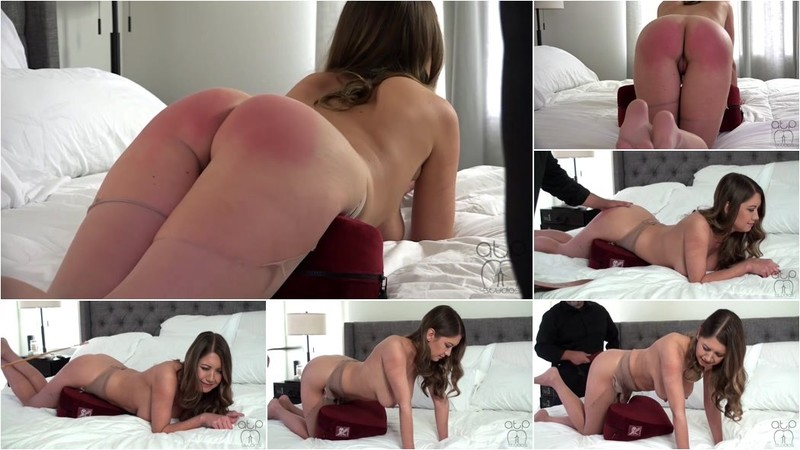 Chrissy Marie - Shredded Pantyhose Date Night Strapping - Cum Without Permission [HD 720p]
