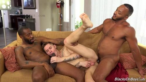 BlacksOnBoys - Zak Bishop, August Alexander & Dillon Diaz (Sep 24)