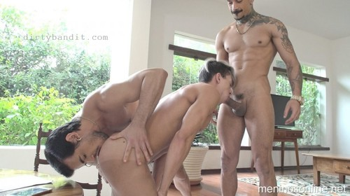 MeninosOnline - Home Office: Richard, Dito & Nando Chaves Bareback (Oct 6)