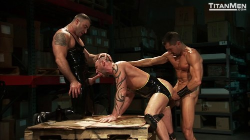 TitanMen - Stockroom: Alessio Romero, Aymeric Deville, Daniel Michael, David Anthony, Spencer Reed, Tibor Wolfe (Oct 11)