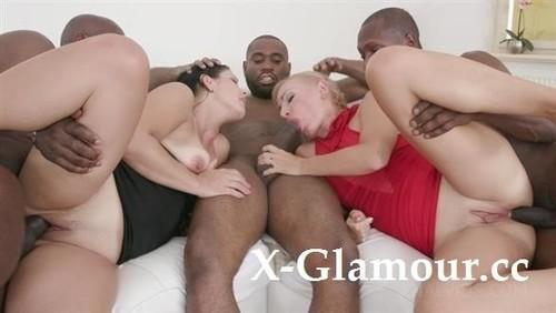 Kinky Interracial Orgy With Janice United, Ketti - Ks134 (SD)