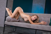 Vika P - dress and showing shaved pussy