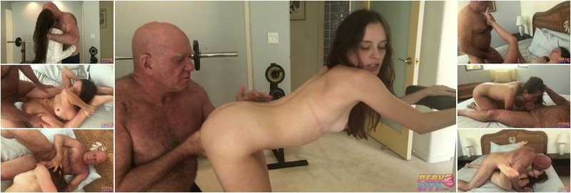 Lily Glee - Muscle Daddy Claudio Fucks Young Tight Slut (HD)