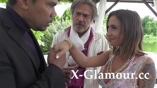 Malena - Blindfolded Babe Tasting Black Dick (HD)
