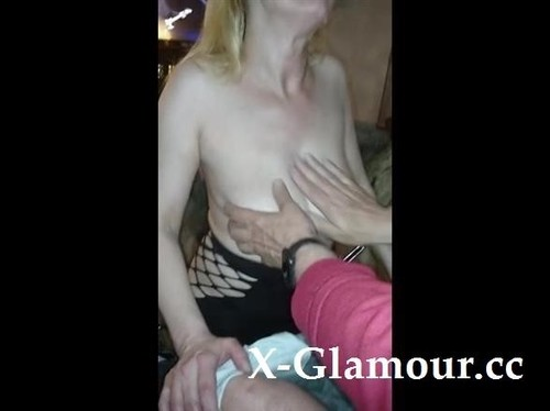 Mature Blonde Jerks A Fat Cock Until It Cums Hard [SD]
