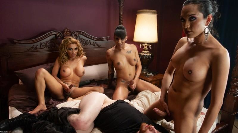 [Kink] Jessy Dubai, Jessica Fox, Honey, Jimmy Bullet - Orgy Remastered Version [HD, 1080p]