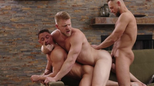 IconMale - Uncles 3 Way: Skyy Knox, Zayne Roman, Logan Stevens Bareback (Oct 22)
