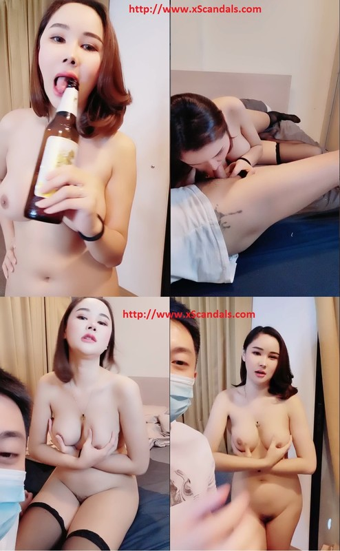 Thailand S-class beauty solo is extremely seduced, beautiful hairless pink pussy, sucking and licking, superb breasts cover