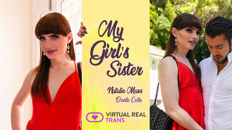 [VirtualRealTrans] Natalie Mars - My Girl's Sister [Virtual Reality, POV, VR, 2048p]