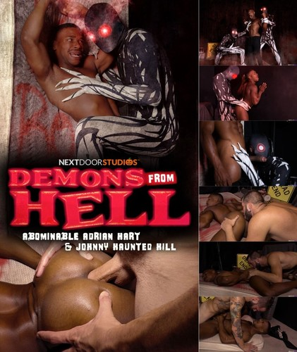 NextDoorRaw - Demons From Hell: Johnny Hill, Adrian Hart Bareback (Oct 28)