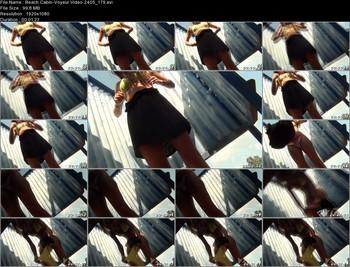 Beach Cabin-Voyeur Video 2405 179