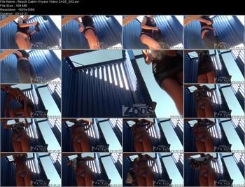 Beach Cabin-Voyeur Video 2405 203