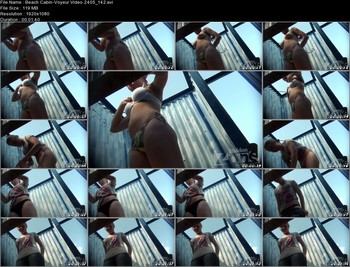 Beach Cabin-Voyeur Video 2405 142