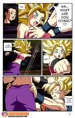 Foxybulma - Goku vs Kale and Caulifla - Dragon ball z hentai