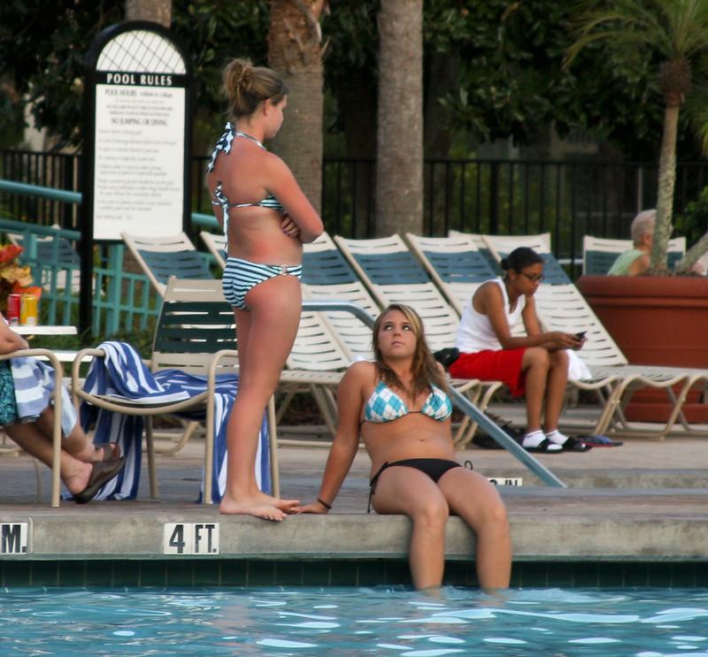 2 lesbian girls kinky pool photos