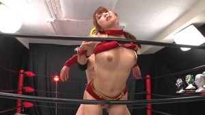 RCTD-365 Big Breasts Women's Professional Wrestler Akane's Time Stop sc3