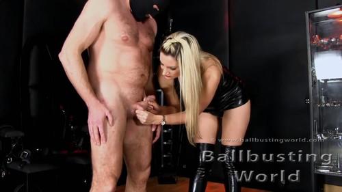 Mistress Nikki Whiplash - New Balls Audition