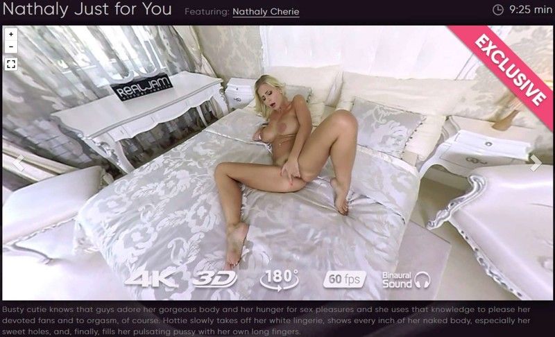 Nathaly Just For You Natalie Cherie Gearvr