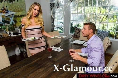 Katie Morgan - Katie Morgan Fucks Her Husbands College Friend For Missing Dinner [SD/360p]