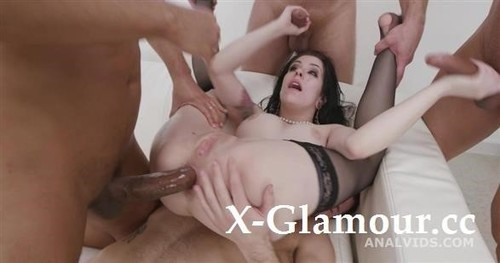 Messy Fantasy With Balls Deep Anal, Dap, Gapes, Buttrose And Anal Creampie Gio1750 [SD]