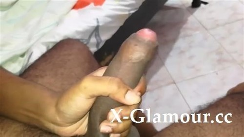 Stroking A Black Dick Is Enough For Her [HD]