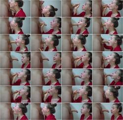 DickForLily-Sloppy deepthroat blowjob cumshot in throat [HD 720p] Pornh.com [2021/54.1 MB]