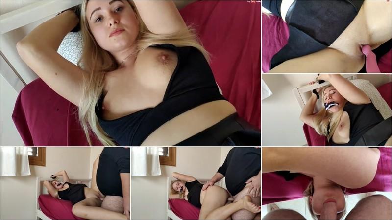 Sarah-Fuerstenberg - Gefesselt und benutzt - 3-Fach Orgasmus fuer die Teeniefotze (1080P/mp4/224 MB/FullHD)