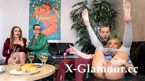 Dinner Party Drenching [FullHD]