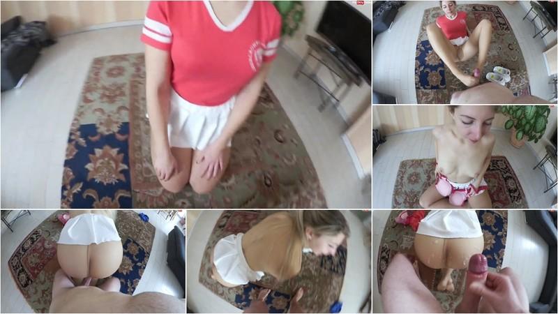 Sarah_Secret - Nylon-Muschi - Durch meine neue Strumpfhose gefickt - XXL-Cumshot (1080P/mp4/150 MB/FullHD)